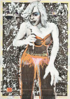Lolita Madonna, December 16, 2011 Original Paintings, Original Art, Single Sheets, Madonna, Artwork Online, Saatchi Art, December, Wonder Woman, Superhero