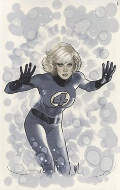 Invisible Woman by AH!