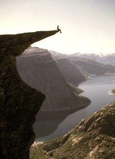 Live life on the edge - take risks - be brave - feel alive