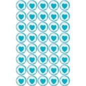 Robin's Egg Blue Heart Sweets Candy - Party City