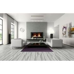1.99/sq ft. 28.91/case 14.53 sq ft. 6x24x5/16 jupiter store MARAZZI VitaElegante Grigio 6 in. x 24 in. Porcelain Floor and Wall Tile (14.53 sq. ft. / case)-ULP7 at The Home Depot