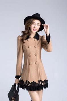 #coat #winter #evening #autumnt #spring #elegant #cute #official #unique #girl #women #womens #girls #beige
