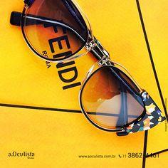 Um Fendi para chamar de seu!  Compre em Até 10x Sem Juros e frete grátis nas compras Acima de R$400,00  Acesse: www.aoculista.com.br/fendi  #fendi #glasses #oculosdesol #oculos #eyeglasses #aoculista