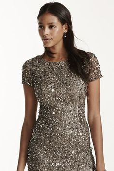 Look radiant this Adrianna Papell dress! Perfect for a Vegas bachelorette party!