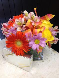 Flowers & chocolate - 2 of my favorite things!