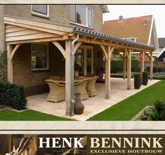 How to Build a DIY Covered Patio Beautiful idea for your backyard!How to Build a DIY Covered Patio Beautiful idea for your backyard! How to build a DIY covered patio Backyard Patio Designs, Pergola Designs, Deck Design, Backyard Landscaping, Garage Design, Backyard Shade, Patio Roof, Pergola Patio, Pergola Kits