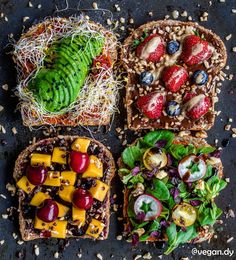 toasts in sweet and savory styleAndy (@vegan.dy) • Instagram photos and videos