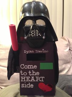 Star Wars Tie Fighter Valentines Box. | Awwwww Valentines | Pinterest |  Valentines, 2! And War