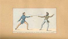 Joseph Roland. The Amateur Of Fencing 1809