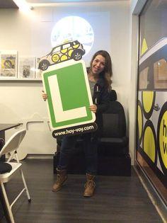 SANDRA PIRIS!!! #hoyvoy #autoescuela #badalona