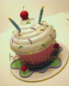 Giant Cupcake | Flickr - Photo Sharing!