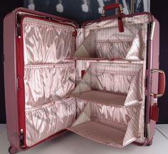 "Pink Samsonite Black Label Hardside Trunk 32"" Suitcase Brand New | eBay"
