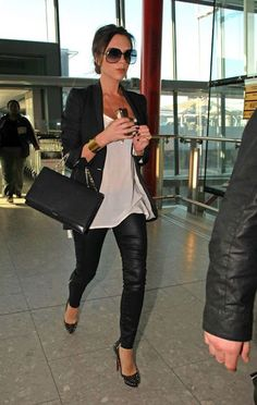 Leather Pants Trend