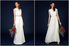 Wedding Inspiration: High St Fashion Aravis and Serene Wedding dresses by Coast. http://www.pierrecarr.com/blog/2014/08/wedding-inspiration-high-st-fashion/ #Coast #Weddingdress