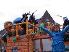 Carnaval kleurplaat maskers en meer
