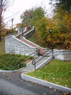 Stairs, Norwich University, Nothfield, Vermont
