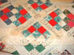 This vintage quilt was created by my Great Aunt and the women in her family back in Depression era in Oklahoma. Each blog features the hand embroidered name of the female ancestor, her birth date and place. Even an old quilt can be a coveted source of family history information for your genealogy research.