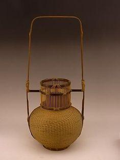 Amazing DIY Bamboo Basket Design Ideas For Home Accessories Bamboo Art, Bamboo Crafts, Bamboo Weaving, Basket Weaving, Woven Baskets, Ikebana, Sisal, Japanese Bamboo, Bamboo Architecture