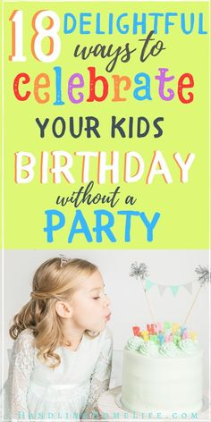 Celebrate your kids birthday WITHOUT a party! Make memories with meaningful birthday traditions instead! Special Birthday, Birthday Fun, First Birthday Parties, Birthday Party Themes, Birthday Ideas, Kid Parties, Birthday Celebration, Printable Birthday Banner, Diy Birthday Banner