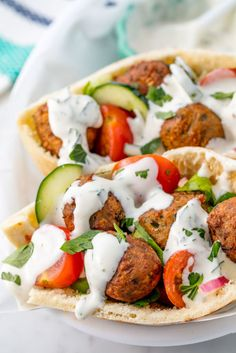 You don't have to travel far to enjoy the wildly unique and delicious taste of falafel. This recipe for Easy Homemade Falafel will take you all the way to the Mediterranean with its rich and delicious flavors. Vegan Recipes Easy, Healthy Dinner Recipes, Cooking Recipes, Cheap Recipes, Greek Recipes, Vegetarian Dinners, Vegetarian Recipes, Best Vegetarian Sandwiches, Quinoa