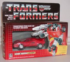 The first Transformer I owned!