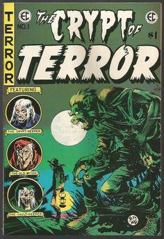 The Crypt of Terrror #1 Jack Davis EC Classic Reprint #1 Comics East Coast 1973