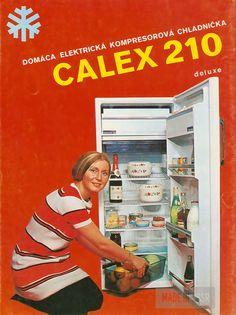 Ďalšia namakaná Calex chladnička typu 210
