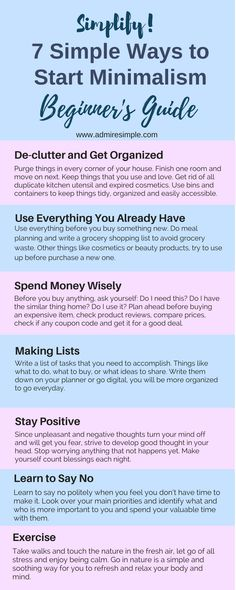 7-simple-ways-to-start-minimalism-beginners-guide
