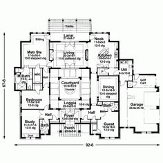 Build Your Ideal Home With This Mediterranean House Plan 3 Bedroomss Bathrooms 1 Story And 3355 Total Square Feet From Eplans Exclusive