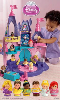 Little People® Disney® Princess Songs Palace: Does she love to act out magical princess stories?