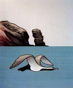 Paintings - Donald Binney - Page 3 - Australian Art Auction Records New Zealand Art, Nz Art, Special Images, Maori Art, Wildlife Art, Art Auction, Beautiful Birds, Contemporary Artists, Art Images