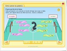 """Cómo suenan las palabras"" (Juego de tildes en agudas, llanas y esdrújulas) Map, Writing, Puns, Spanish Language, Teaching Resources, Speech Language Therapy, Location Map, Maps, Being A Writer"