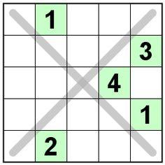 Number Logic Puzzles: 21631 - Sudoku size 5