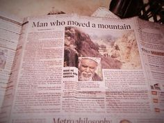 Dashrath Manjhi: The Man Who Moved a Mountain