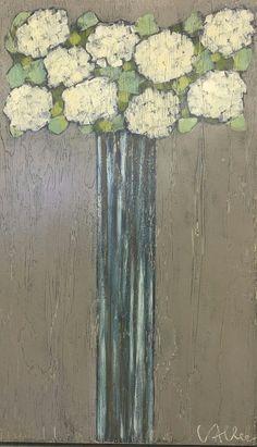 White Hydrangeas, by Cecel Allee.
