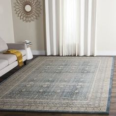 Shop for Safavieh Sofia Vintage Blue/ Beige Distressed Rug (8' x 10'). Ships To Canada at Overstock.ca - Your Online Home Decor Outlet Store!  - 18563000