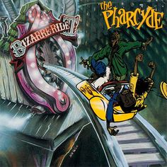 Pharcyde, Bizarre Ride II the Pharcyde (1992) - The 50 Best Hip-Hop Album Covers   Complex