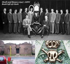 FOUNDATION OF THE 322 CHAPTER OF THE ORDER OF SKULL & BONES SECRET SOCIETY:  THE ILLUMINATI OCCULT PUPPETS & CANDIDATES FOR US PRESIDENCY & CIA ESTABLISHED BY 33 DEGREE FREEMASON WILLIAM HUNTINGTON RUSSELL