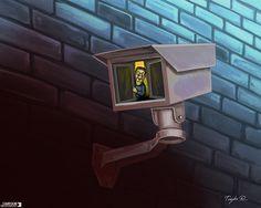 People seem to be more afraid than ever. Today's cartoon by Trayko Popov: http://www.cartoonmovement.com/cartoon/35291