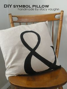 Pair a couple pillows with some handmade pillow cases. Personalize to fit the reciever's style. Make enough so that they can change out the pillow cases a few times a year! handmade by stacy vaughn