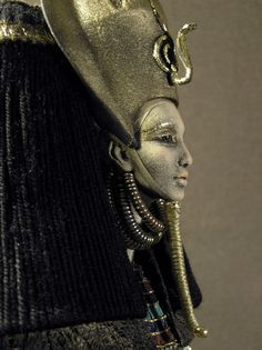 "Ancient Egypt. Meretseger, meaning ""she who loves silence"", was cobra-goddess of tomb builders and protector of royal tombs. She was considered to be both a dangerous and merciful goddess."