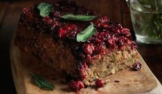 best ever nut roast with pistachios and cranberries #christmas #vegetarian