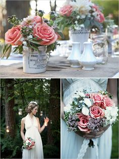 Finch And Thistle Event Design is an amazing event and floral stylist in The Pacific Northwest. Vintage Flower Arrangements, Floral Centerpieces, Table Centerpieces, Plan My Wedding, Our Wedding, Wedding Ideas, Wedding Things, Wedding Bells, Wedding Stuff
