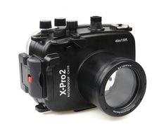 Underwater camera housing/case for Fujifilm cameras