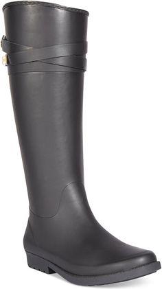 Tommy Hilfiger Women's Coree Tall Rain Boots on shopstyle.com