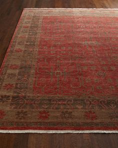 Hulbert Oushak Rug by Safavieh at Horchow. 4000.00