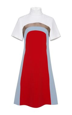 Colorblock Nico Dress by Jonathan Saunders for Preorder on Moda Operandi