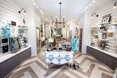 Love the chevron floor-Joydrop store by Cutler, Calgary Canada accessories Retail Store Design, Retail Shop, Visual Merchandising, Boutique Stores, Boutique Ideas, Interior Concept, Interior Design, Trade Center, Chevron Floor