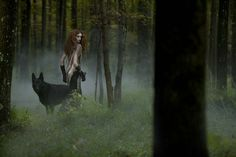 #wolf #women #forest #magick