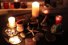 The Witch's Altar at Imbolc